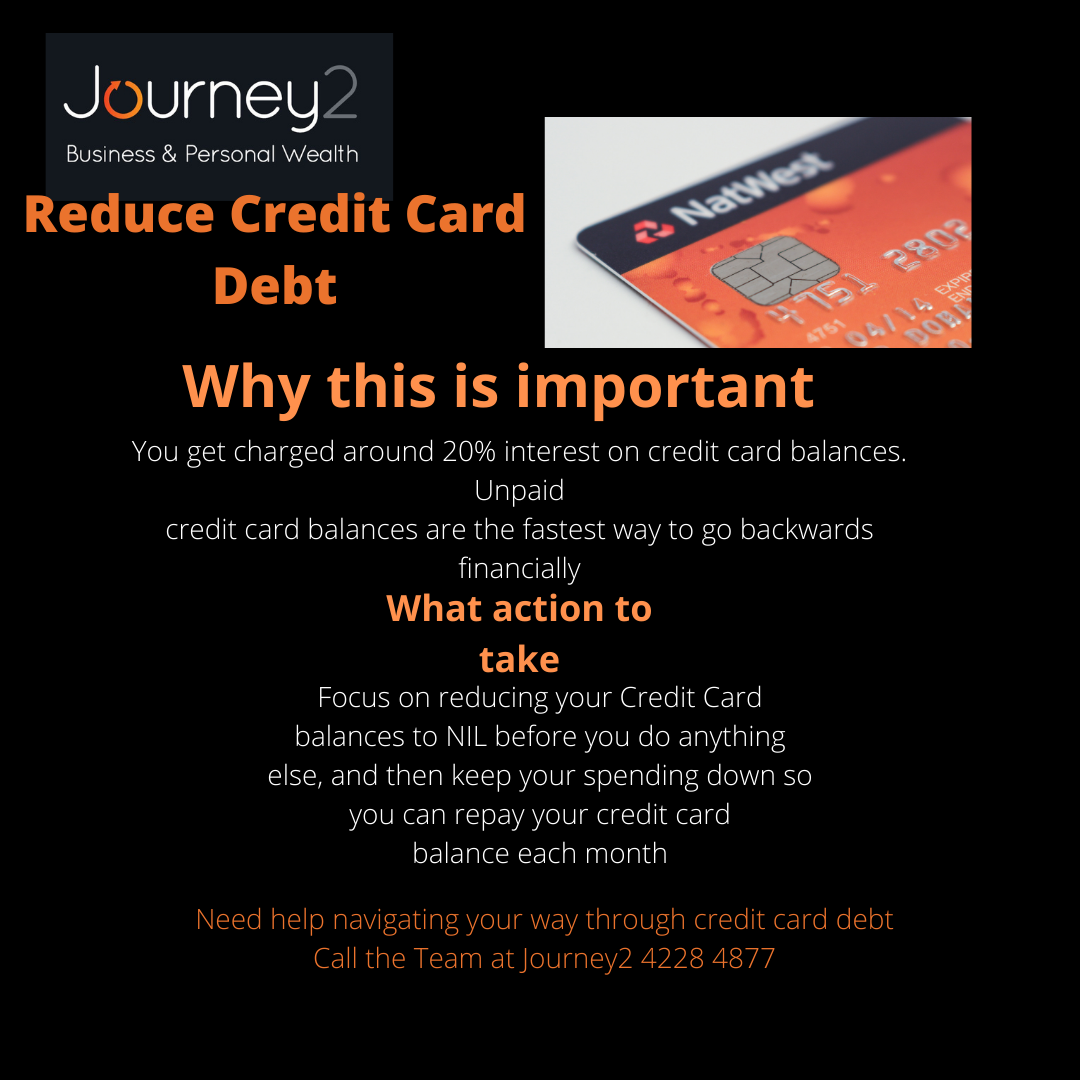 Reduce your credit card debt