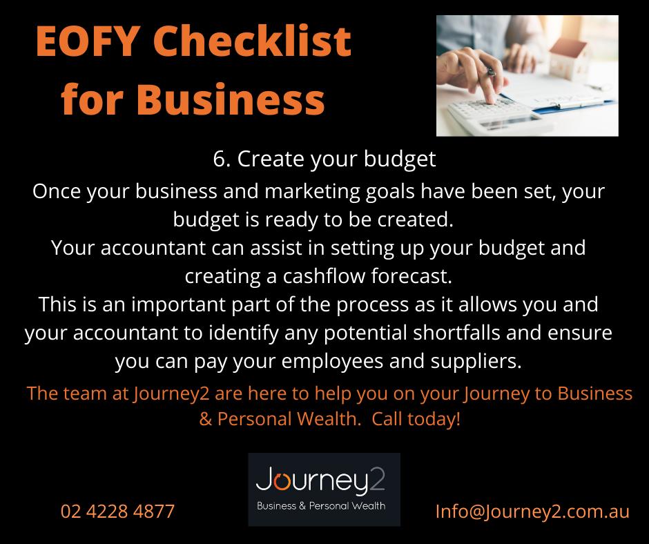 EOFY Checklist for Business