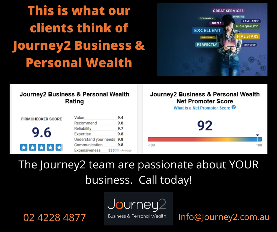 Journey2 Business & Personal Wealth – Client Reviews