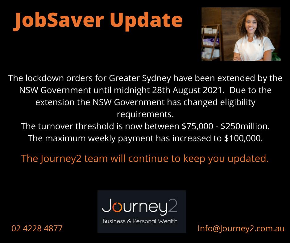 JobSaver Update