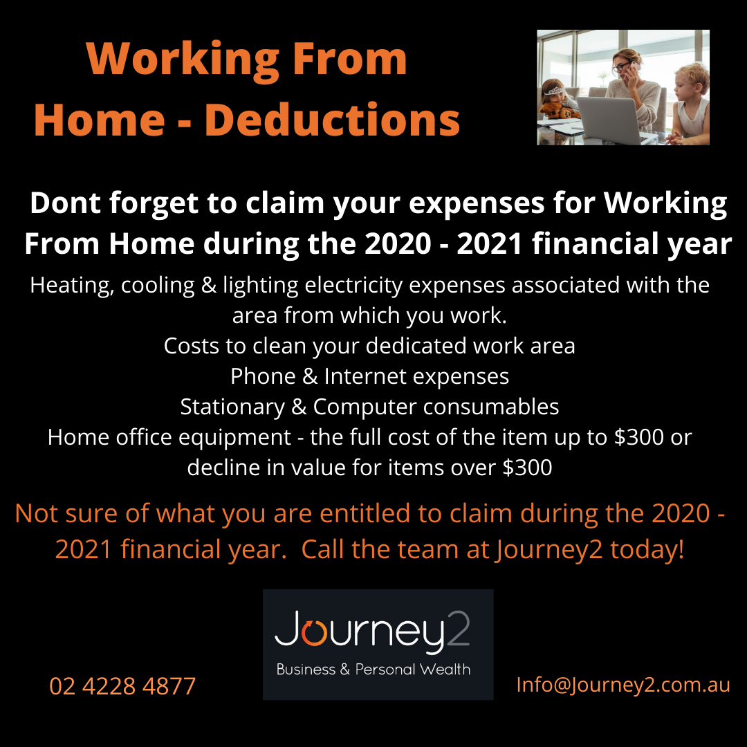 Working From Home – Deductions